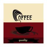 Ретро винтажный кофе Иллюстрация вектора