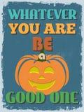 Ретро винтажный мотивационный плакат цитаты также вектор иллюстрации притяжки corel Стоковые Изображения