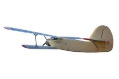 Ретро винтажный самолет Стоковое Изображение