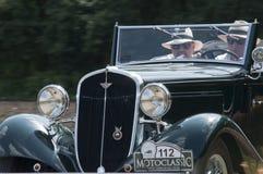 Ретро водитель Стоковая Фотография