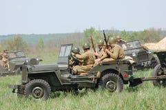 Ретро военная форма WWII Стоковые Фотографии RF