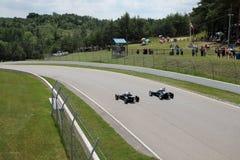 Ретро гонки автомобилей Стоковые Фото