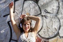 Ретро городская музыка Стоковая Фотография