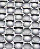 Ретро декоративные элементы полусферы металла стоковое фото rf