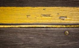 Ретро деревянная нашивка Стоковая Фотография