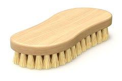 Ретро деревянные scrub щетка бесплатная иллюстрация
