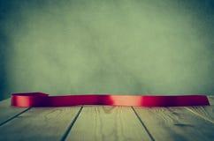Ретро лента на планках - обрабатываемый крест Стоковые Фото