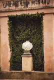 Ретро детали стиля в Parc del Laberint Horta, Барселоне Испании стоковое изображение rf