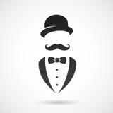 Ретро джентльмен Стоковые Изображения RF