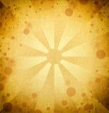 Ретро желтая предпосылка Стоковая Фотография RF