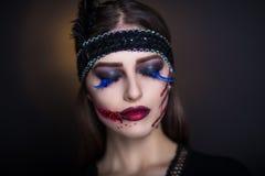 Ретро зомби Стоковое Фото