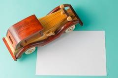 Ретро игрушка автомобиля Стоковые Фотографии RF