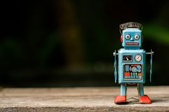 Ретро игрушка робота Стоковое Фото
