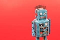 Ретро игрушка робота Стоковая Фотография RF