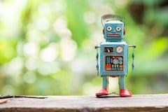 Ретро игрушка робота Стоковое Изображение RF