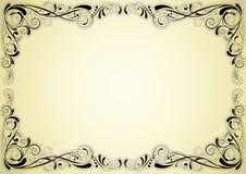 Ретро дизайн рамки Стоковые Изображения