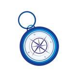 Ретро изображение значка компаса Стоковые Фотографии RF