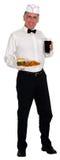 Ретро изолированный кокс фраев бургера рывка соды Стоковые Фото