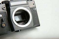Ретро камера фото без объектива стоковая фотография rf