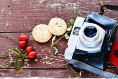 Ретро камера стоковые фото