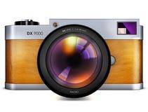 Ретро камера бесплатная иллюстрация