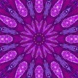 Ретро картина арабескы Картина Sunburst Солнця Сияющая предпосылка солнца Световые лучи взрыва года сбора винограда Ультрафиолето бесплатная иллюстрация