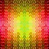 Ретро картина геометрических форм Стоковая Фотография