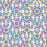 Ретро картина геометрических форм Стоковые Фотографии RF