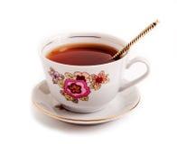 Ретро керамическая чашка Стоковые Фото