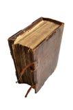 Ретро книга изолированная на белой предпосылке Стоковое Изображение