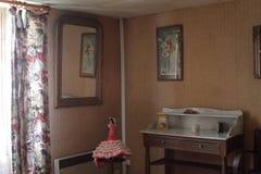 Ретро комната Стоковая Фотография
