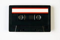 Ретро компактная магнитофонная кассета Стоковая Фотография RF