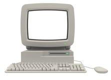 Ретро компьютер стоковые изображения