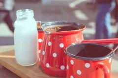Ретро комплект кофе Стоковое Фото