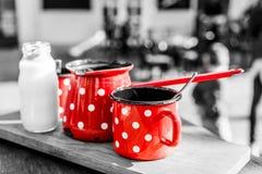 Ретро комплект кофе Стоковые Изображения