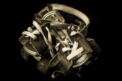 ретро коньки ролика Стоковая Фотография RF