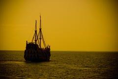 ретро корабль Стоковая Фотография