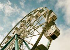 Ретро колесо Ferris фильтра Стоковое Изображение RF