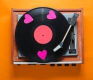Ретро культура, Valentine' день s стоковые изображения