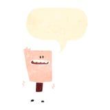 ретро мальчик blockhead шаржа бесплатная иллюстрация