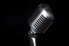 ретро микрофона способа старое Стоковое фото RF