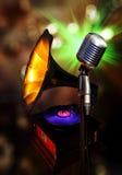 ретро микрофона старое Стоковая Фотография