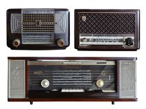 Ретро модель Philips радио стоковое фото