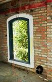 ретро окно Стоковая Фотография