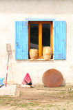 ретро окно Стоковое Изображение