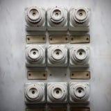 Ретро панель взрывателей Стоковая Фотография RF