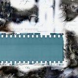 Ретро плакат пленки Стоковые Фотографии RF