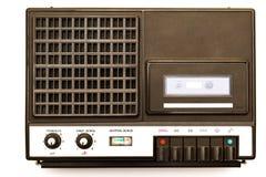 Ретро портативный магнитофон Стоковое Фото