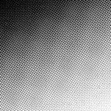 Ретро предпосылка круга градиента полутонового изображения иллюстрация вектора