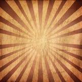 Ретро предпосылка grunge типа sunburst Стоковые Изображения